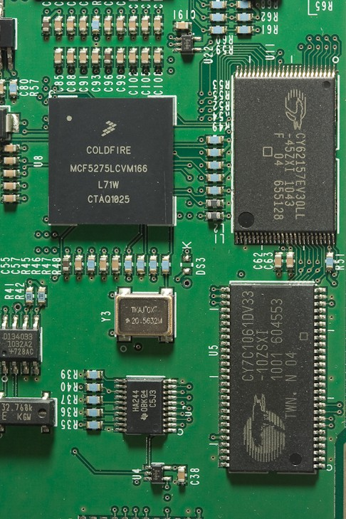 Allen Bradley MicroLogix 1400 PLC FreeScale microprocessor microcontroller