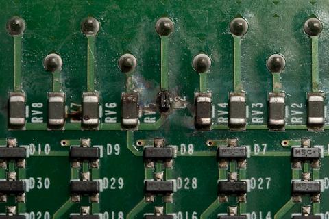 Allen Bradley MicroLogix 1400 PLC damaged digital input