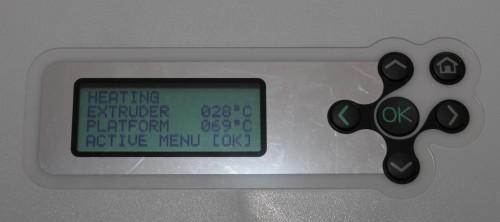 Extruder heating fail