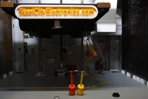 Da Vinci print bed thermistor testing