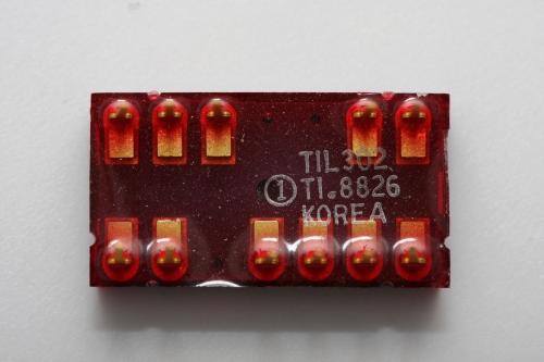 TIL302 bottom markings