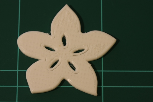 Best Ninjaflex print so far! Only the last 1 minute extruded poorly after 70 minutess of printinf