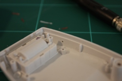 2mm hole in the case