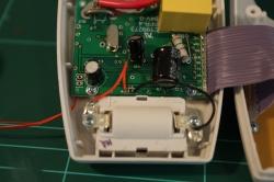 PCB reassembled in case