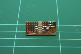 Good electrical isolation of copper tracks