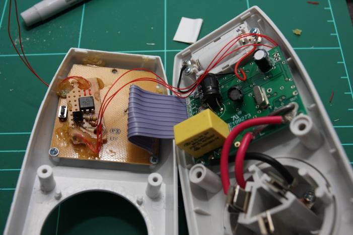 4N25 installed in energy meter