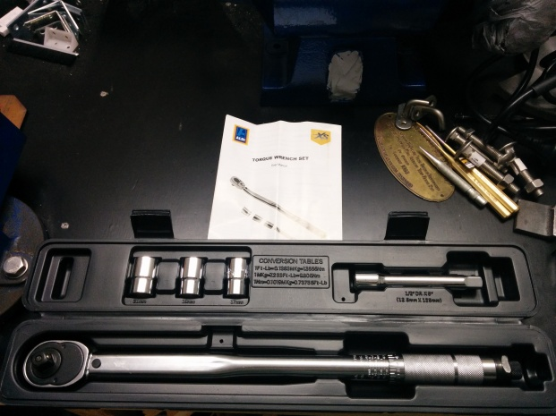 Aldi torque wrench