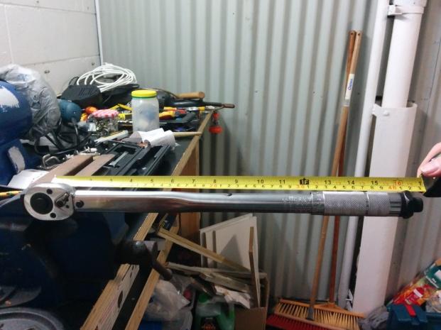 Testing Aldi torque wrench