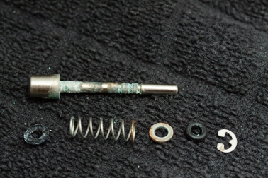 Control button disassembled